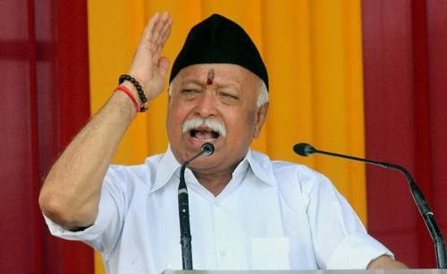 Image result for Mohan Bhagwat said RSS next agenda is two children law