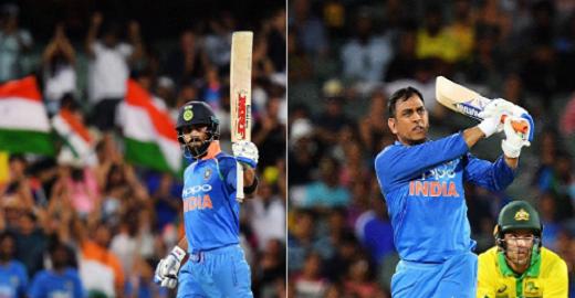 कोहली-धोनी के दम पर भारत ने ऑस्ट्रेलिया को हराया, सीरीज 1-1 से बराबरी पर