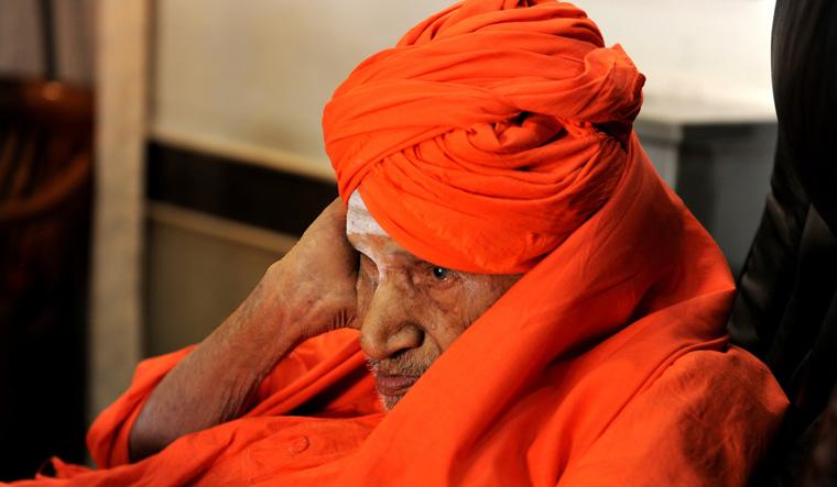 सिद्धगंगा मठ के प्रमुख शिवकुमार स्वामी का 111 साल की उम्र में निधन, कर्नाटक में 3 दिन का राजकीय शोक