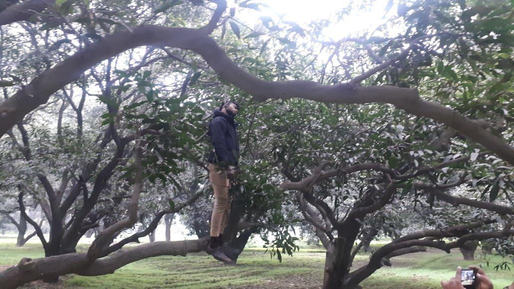 मेरठ में युवक की पेड़ पर लटकी मिली लाश, मचा हडकम्प