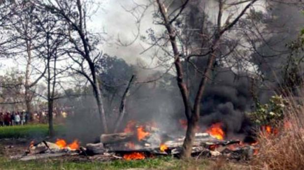 बेंगलुरु में वायुसेना का मिराज विमान दुर्घटनाग्रस्त, दोनों पायलट की मौके पर मौत