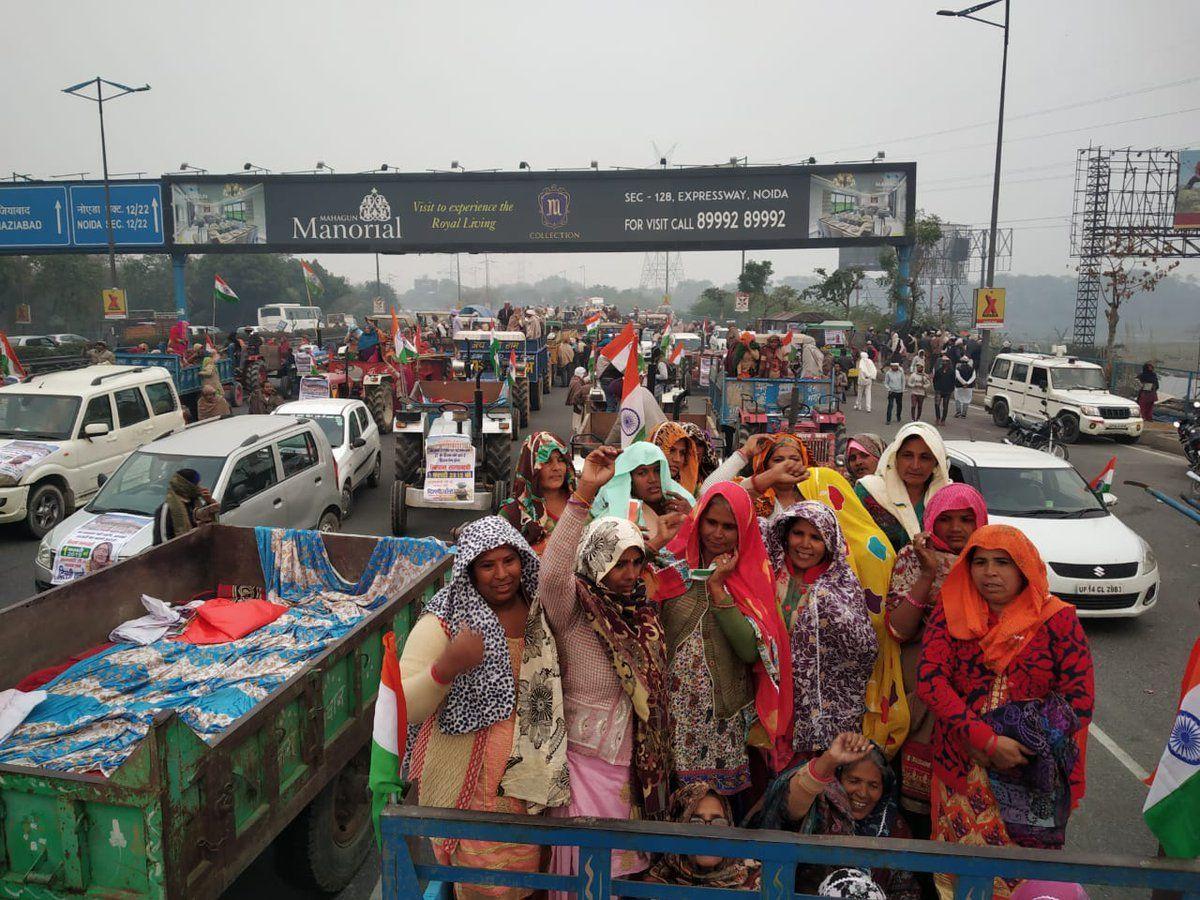 किसानों ने फिर भरी हुंकार, प्रदर्शन के चलते दिल्ली-नोएडा DND फ्लाईओवर बंद