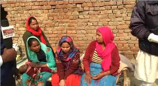 गाजियाबाद : विजय नगर थाना क्षेत्र में दबंगों द्वारा वृद्ध महिला के मकान पर कब्जे की कोशिश