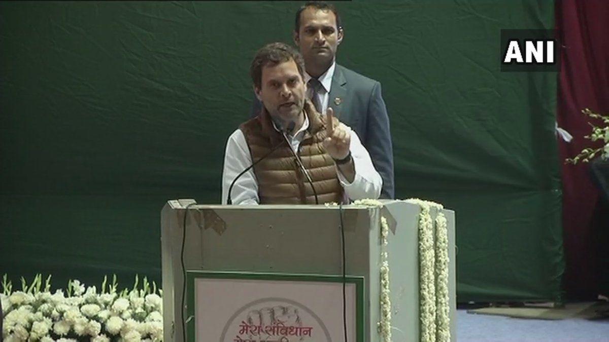राहुल गांधी बोले-
