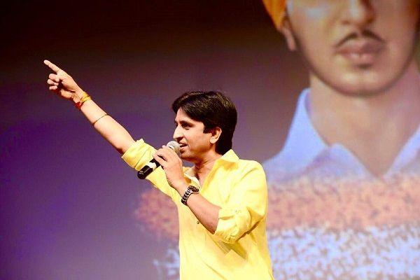 कुमार विश्वास लड़ेंगे इस पार्टी से लोकसभा चुनाव