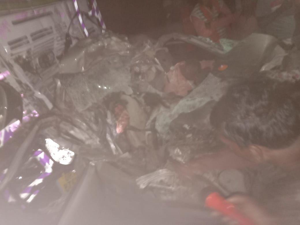 आईपीएस पीयूष आंनंद का परिवार काल के गाल में समाया, गैस कटर से काटकर निकले शव