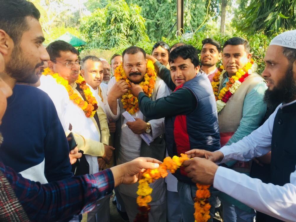 नोशाद खान को राष्ट्रीय लोकदल अल्पसंख्यक प्रकोष्ठ का सहारनपुर मण्डल बनाया
