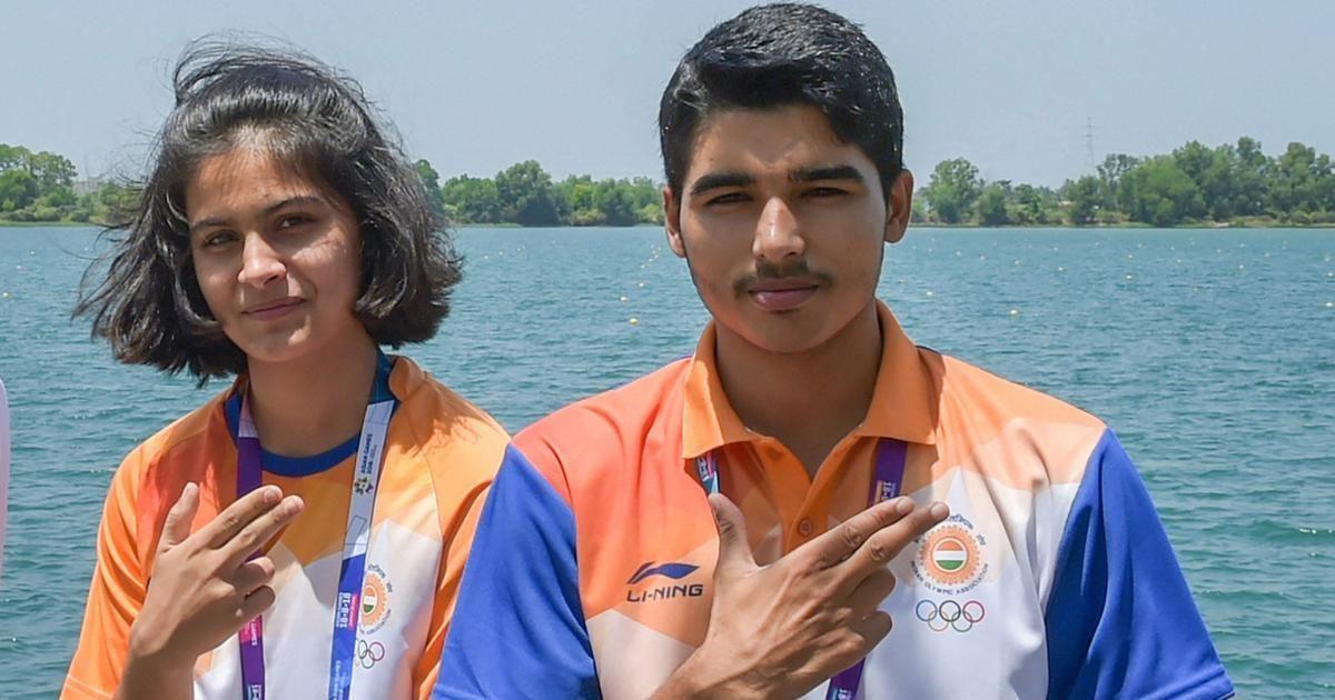 ISSF World Cup : मनु भाकर और सौरभ चौधरी ने 10 मीटर एयर पिस्टल में जीता गोल्ड