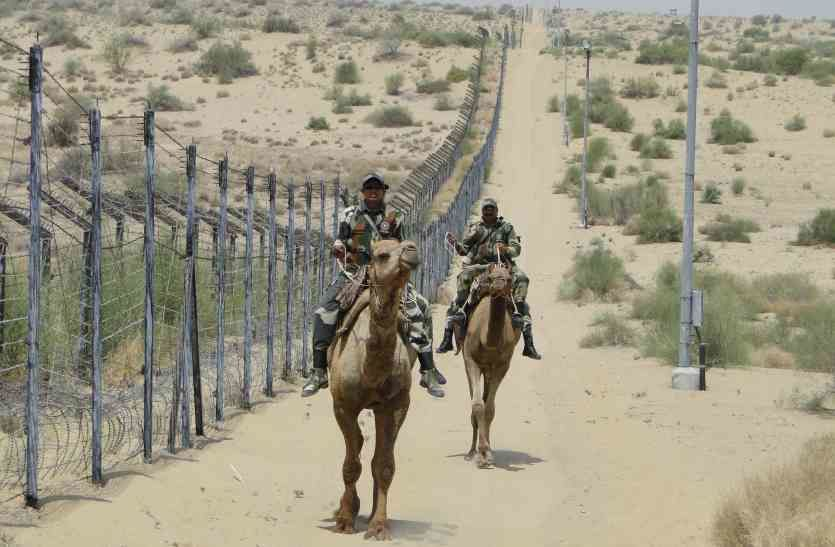 जैसलमेर में सीमा पर सेना के हाथ लगा संदिग्ध, हवाई सेवा की चालू