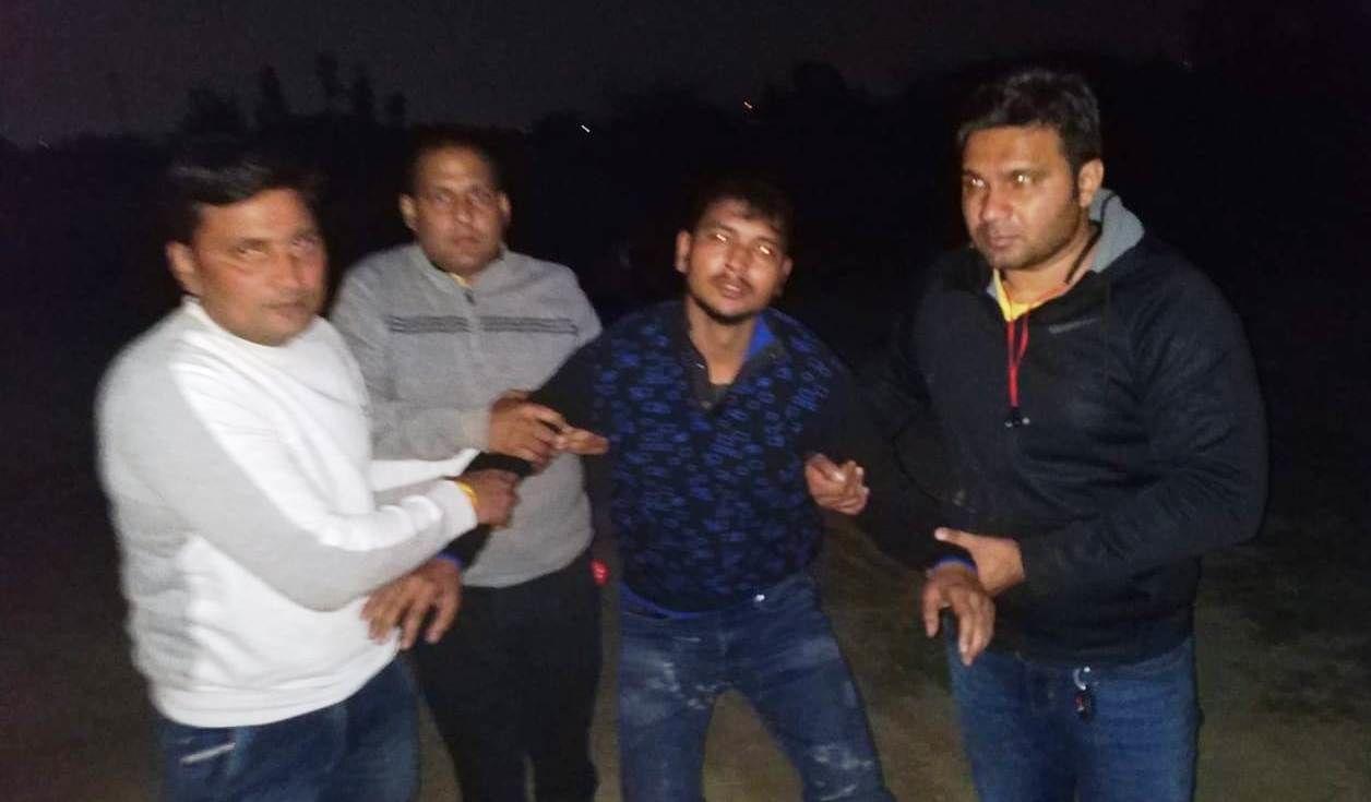 नोएडा पुलिस ने मुठभेड़ में 50 हजार रुपए का इनामी बदमाश किया गिरफ्तार