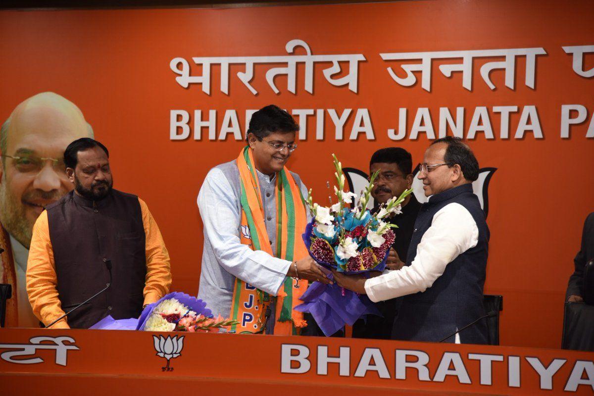 बीजेपी ने बैजयंत जय पांडा को राष्ट्रीय उपाध्यक्ष और प्रवक्ता किया नियुक्त