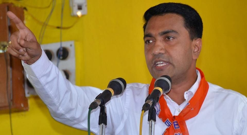 LIVE : प्रमोद सावंत गोवा के नए मुख्यमंत्री दो डिप्टी सीएम भी चुने गए, आज रात 11 बजे होगा शपथ ग्रहण!