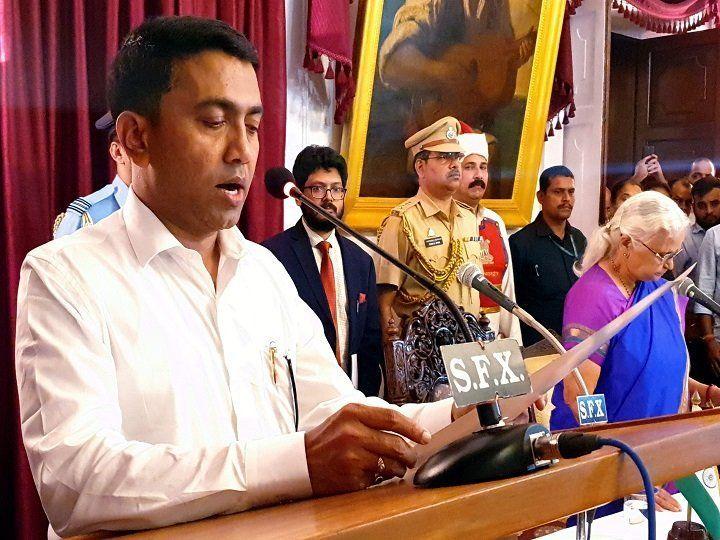 PM नरेंद्र मोदी ने मुख्यमंत्री प्रमोद सावंत को दी बधाई, आधी रात मिली गोवा की कमान, दो डिप्टी सीएम भी बने