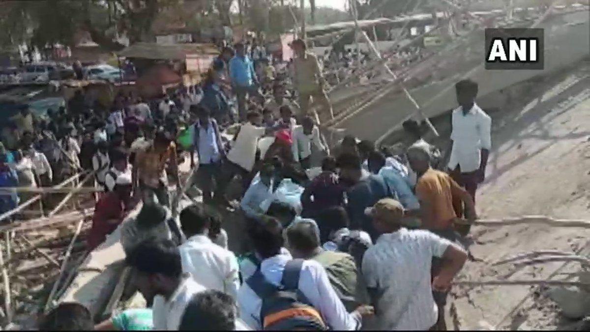 कर्नाटक में बड़ा हादसा, धारवाड़ में निर्माणाधीन इमारत गिरी, एक की मौत, 40 लोगों के दबे होने की आशंका