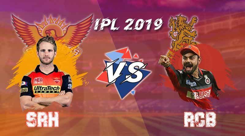 IPL2019 : आज है हैदराबाद और बैंगलोर की टक्कर, कौन मरेगा बाज़ी