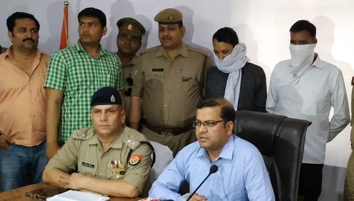 प्रेमी जोड़े के हत्या के आरोप में में ASI गिरफ्तार, गाजियाबाद के साईं उपवन में मिली थी दोनों की लाश!