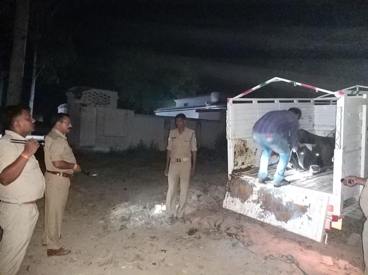कुशीनगर का शातिर गौकश इमामुद्दीन संत कबीर नगर पुलिस ने मुठभेड़ में किया गिरफ्तार