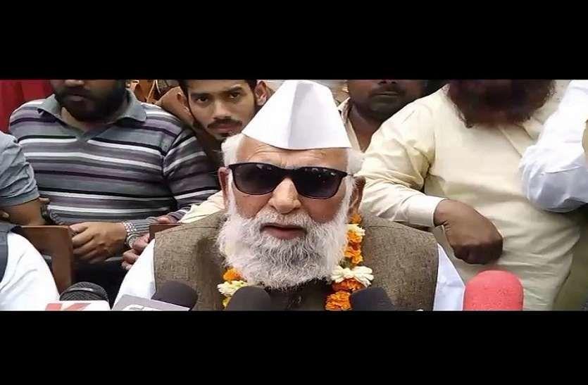 डॉ. शफीकुर्रहमान बर्क मोदी की मौत का पैगाम लेकर आये