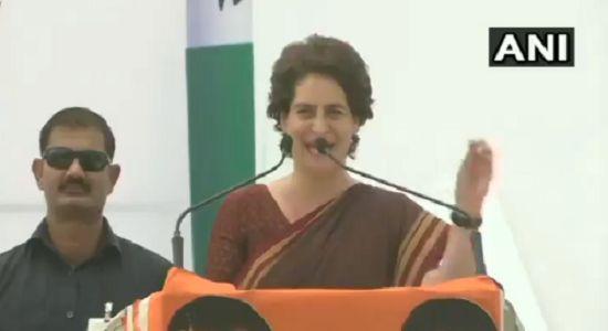 प्रियंका गांधी का PM मोदी पर हमला, कहा- राष्ट्रवादी हो तो किसानों से क्यों नहीं मिले?