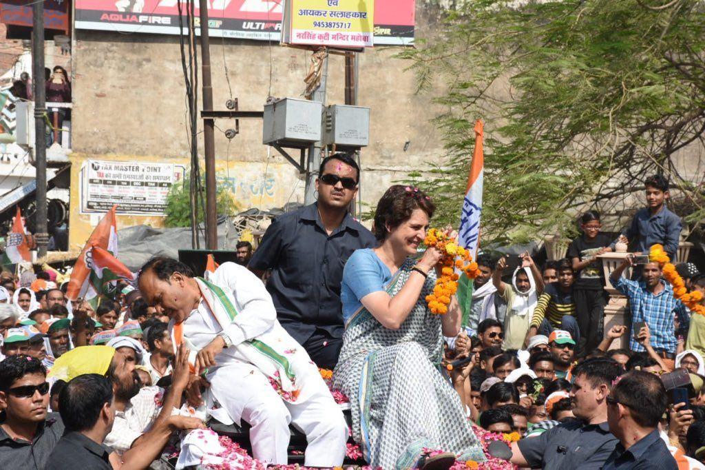 बड़ी खबर: प्रियंका गाँधी की गाडी से हादसा