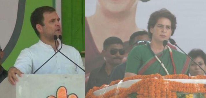 राहुल गांधी के दिलों में भाजपा के प्रति है आक्रोश, प्रियंका के बोल भाजपा शहीदों के नाम पर मांग रही वोट,