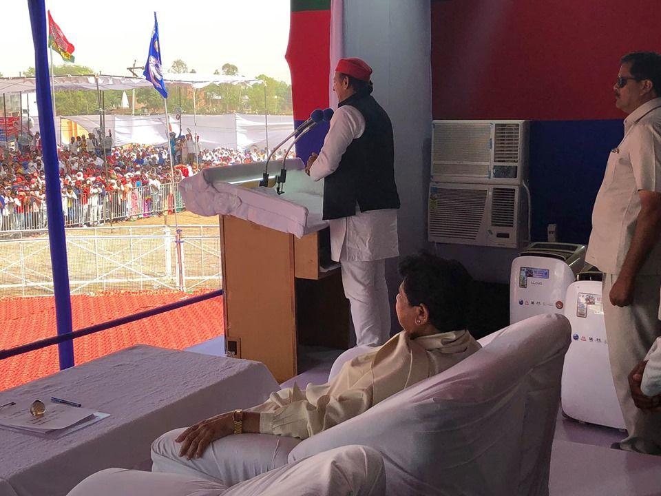 यूपी में बीजेपी को बड़ा झटका, योगी के मंत्री ने किया गठबंधन के समर्थन का ऐलान