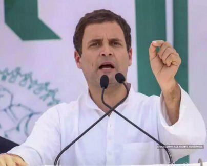 मैं मोदी जैसा नहीं हूं जो अपने ही गुरू को झापड़ मार दूं-राहुल गांधी