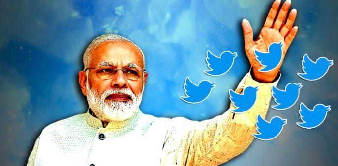 Twitter पर सबसे बड़ी राजनीतिक पार्टी बनी BJP
