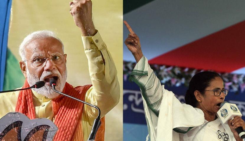 बंगाल में दीदी और मोदी की जंग, बंगाल की सरकार और चुनाव आयोग ने आखिर किसका निभाया संग!