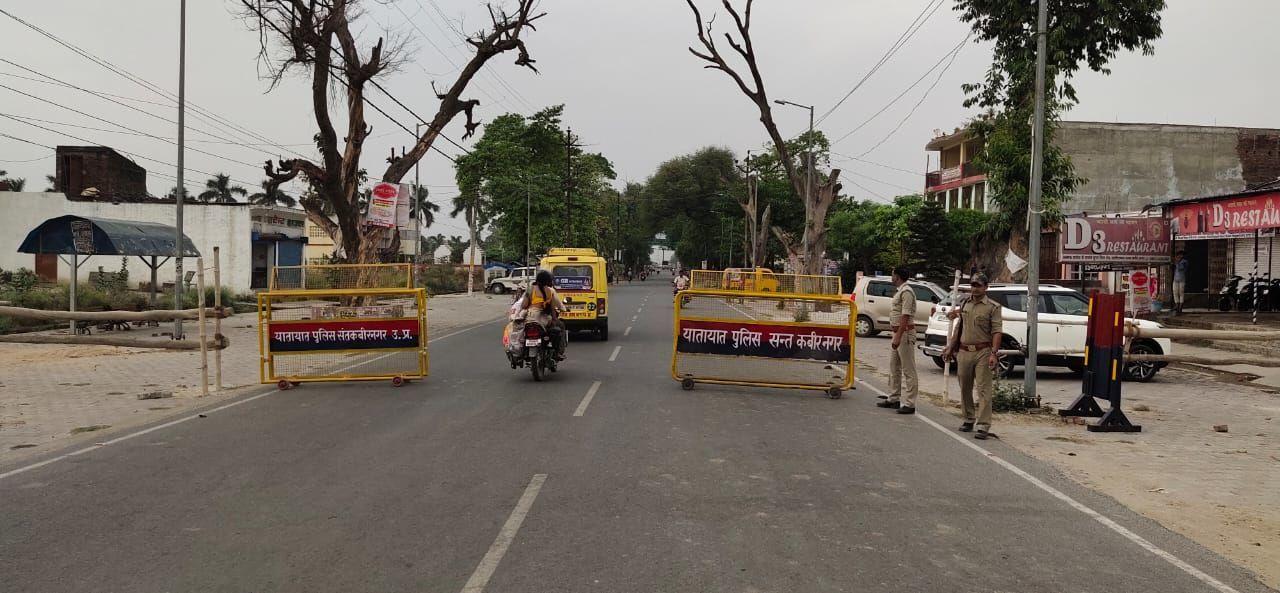 संतकबीरनगर पुलिस ने जारी किया मतगणना के दिन रुट डायवर्जन का निर्देश