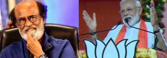 रजनीकांत का बयान मोदी है करिश्माई नेता, मजबूत विपक्ष के लिए राहुल को...