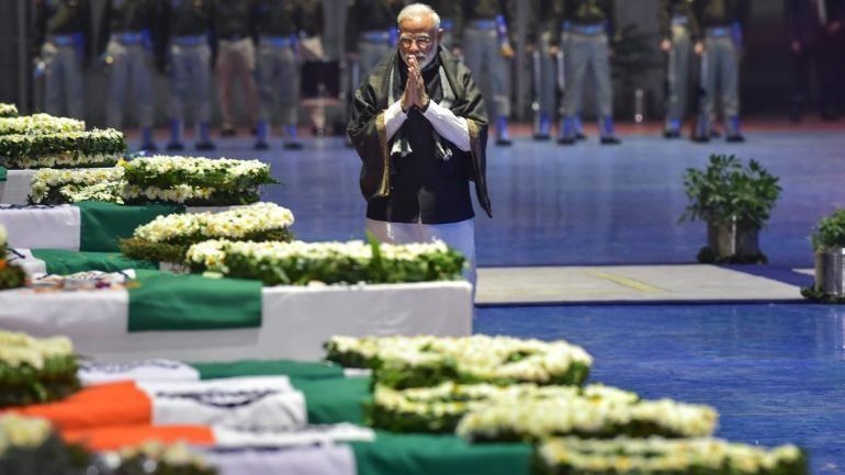 प्रधानमंत्री मोदी के शपथ ग्रहण में शामिल होंगे पुलवामा में शहीद जवानों के परिजन