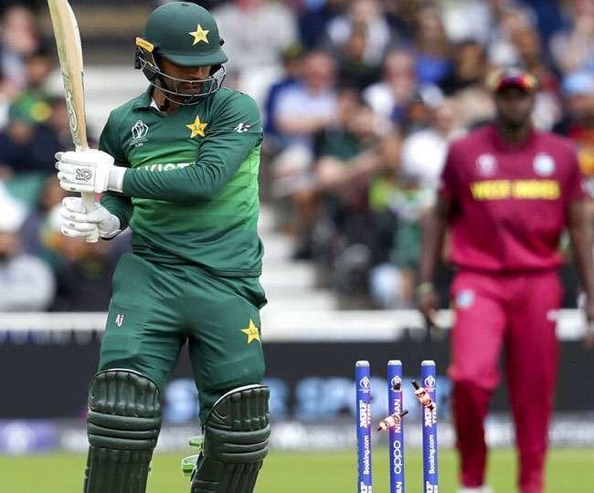 CWC 2019: वेस्ट इंडीज ने पाकिस्तान को बुरी तरह खदेड़ा