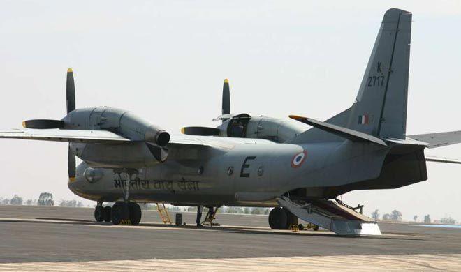 वायुसेना के एएन-32 विमान का मलबा दिखा - सूत्र