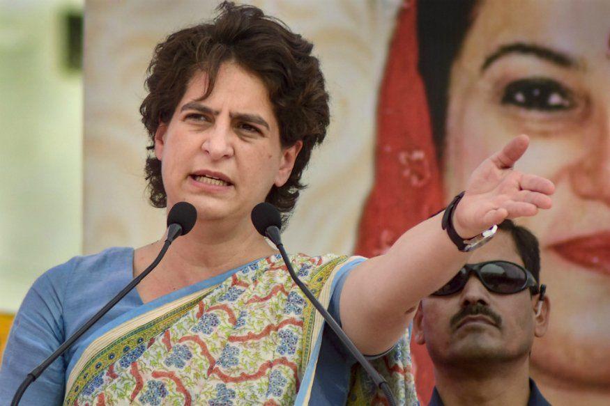 कांग्रेस कार्यकर्ताओं पर भड़कीं प्रियंका गांधी, और बोल दी यह बात सन्नाटा छा गया मीटिंग में!