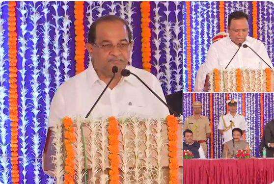 महाराष्ट्र सरकार का मंत्रीमंडल विस्तार, कांग्रेस के पूर्व नेता समेत 13 मंत्रियों ने ली शपथ