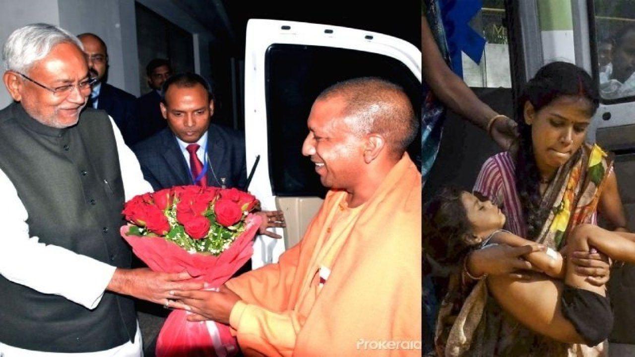 आखिर क्यों मुजफ्फरपुर कराह रहा है जबकि गोरखपुर एकदम शांत, योगी से क्यों नहीं सीखे नीतीश कुमार?
