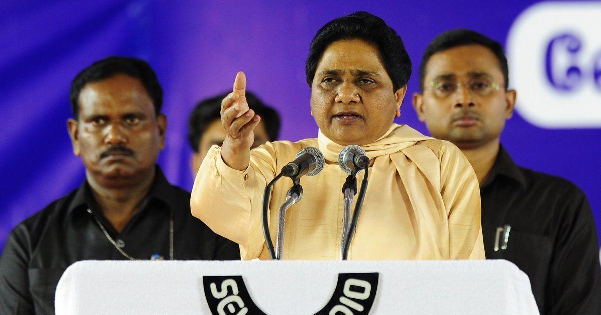 मायावती ने भाजपा शासित राज्यों पर लगाये आरोप
