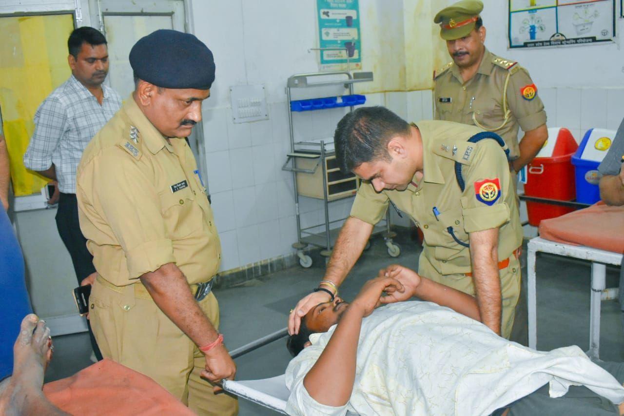 रामपुर: छह साल की मासूम से बलात्कार करने वाले आरोपी को पुलिस मुठभेड़ में लगी गोली