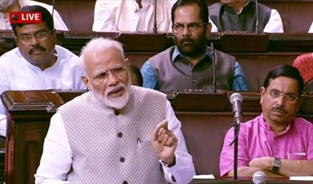 पीएम मोदी ने राज्यसभा में अपने संबोधन में कांग्रेस को कटघरे में खड़ा किया, जानिए- बड़ी बातें