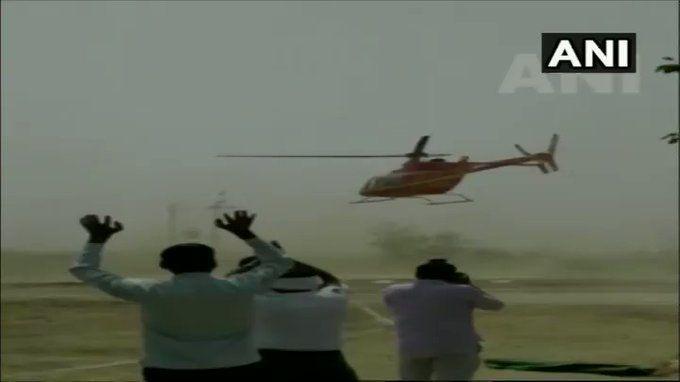 अलवर:  बीजेपी सांसद महंत बालकनाथ का विमान हुआ बेकाबू, और फिर ....