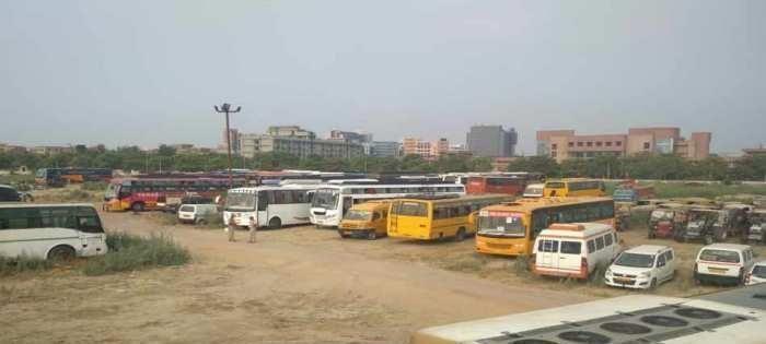 ऑपरेशन क्लीन-4 के तहत 73 डग्गामार बसों को पुलिस ने पकड़ा