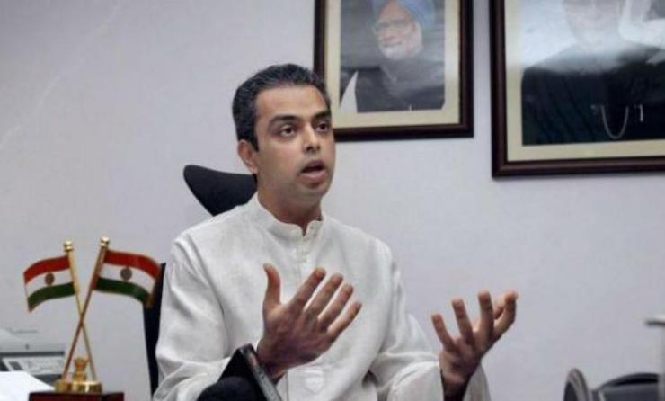 मिलिंद देवड़ा ने मुंबई कांग्रेस अध्यक्ष पद से दिया इस्तीफा