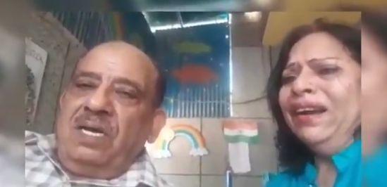 बेटे ने बुजुर्ग माता-पिता को घर से निकलने का सुनाया फरमान, वीडियो वायरल.. डीएम गाजियाबाद ने दिलाया न्याय