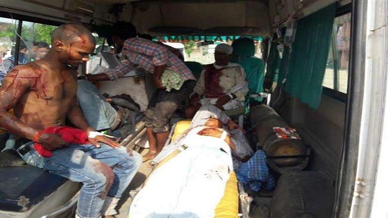 उत्तर प्रदेश के सोनभद्र में खूनी संघर्ष, दस की मौत बीस घायल मचा हडकम्प
