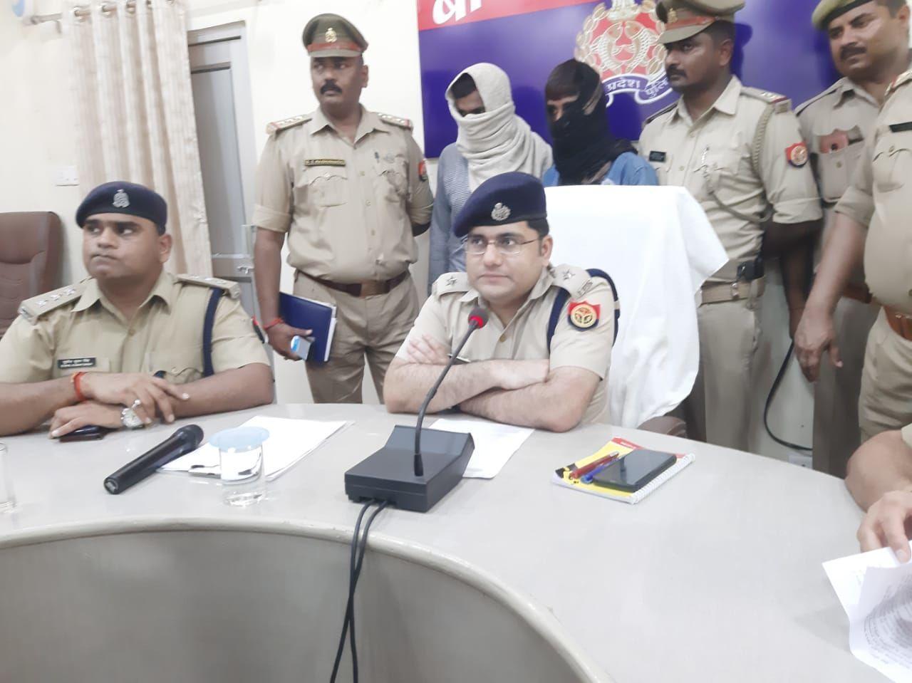बाराबंकी पुलिस ने सनसनीखेज दोहरे हत्याकाण्ड का किया खुलासा, पच्चीस हजार के इनामिया समेत दो आरोपी गिरफ्तार