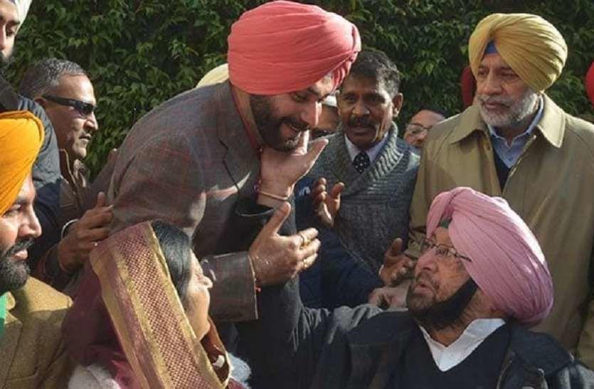 पंजाब सीएम कैप्टेन अमरिंदर सिंह ने नवजोत सिंह सिद्धू का किया इस्तीफा मंज़ूर