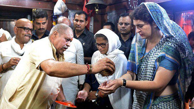 प्रियंका गाँधी दिल्ली लौटी लेकिन?