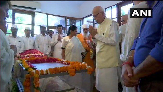 RIP Sheila Dikshit: शीला दीक्षित का अंतिम संस्कार आज, आडवाणी, सुषमा और उमर अब्दुला ने दी श्रद्धांजलि