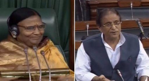 स्पीकर की चेयर पर थीं रमा देवी, आजम खान की टिप्पणी पर लोकसभा में हो गया बवाल..माफ़ी पर अड़ी BJP